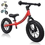 Banana Bike GT - Vélo d'équilibre avec roues en alliage 12' pour enfants de 2, 3, 4, 5 ans