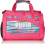 PUMA Girls' Big Evercat Transformation JR Duffel, pink/multi, OS