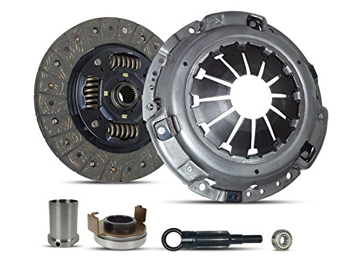 Clutch With Sleeve Repair Kit compatible with Impreza Wrx Limited Premium Sedan Wagon Xt Tr 2006-2011 2.5L H4 GAS DOHC Turbocharged (Ej255; 5 Speed)