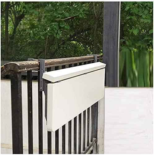 yxx Mesa Colgante Flotante Blanca, Moderno Oficina del hogar Loft Loft Counter...