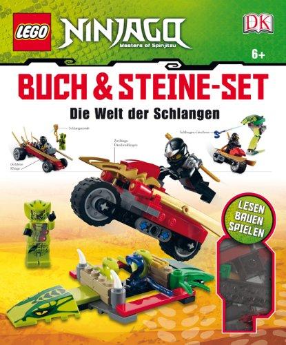 LEGO Ninjago - Buch & Steine Set: Die Welt der Schlangen