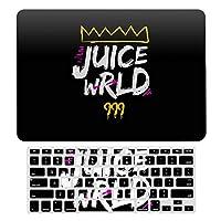Juice WRLD ジュース・ワールド MacBook Air 13 インチ ケース 衝撃吸収 薄型 対応 A1466/A1369 MacBook Air 13 キーボードカバー ラップトップ MacBook Pro 13 キーボードカバー MacBook Pro 13 インチ ケース カバー A1706/A1989/A2159