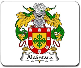 Alcantara Family Crest Coat of Arms Mouse Pad
