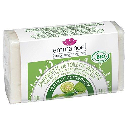 emma noël Savonnette Bergamote Bio 100 g