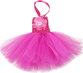 BUENOS NINOS Baby Girls Tutu Dress Crochet Tube Top Baby Pettiskirt