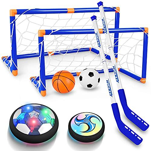 Air Powered LED Hockey Hover Set