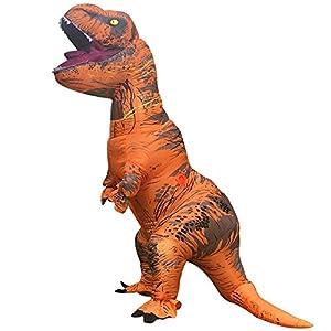 SUNREEK Disfraz Inflable de Dinosaurio T-Rex Adulto, Trajes ...