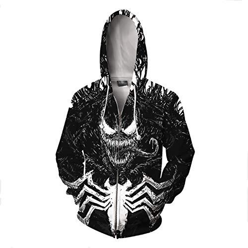 GYMAN Superhéroe Venom Sudaderas con...