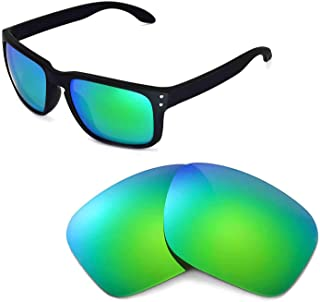 Walleva Replacement Lenses for Oakley Holbrook Sunglasses -Multiple Options