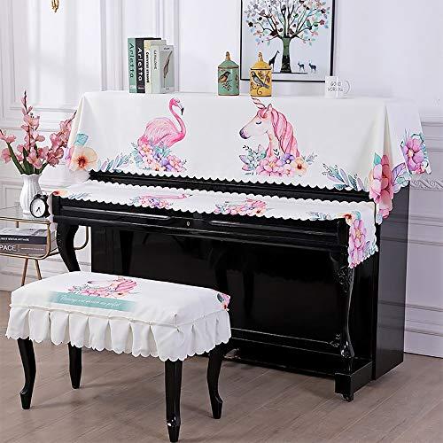 Dhl 3-delige piano-handdoek, eenvoudige druk van de geschiedenis van het toetsenbord Heces