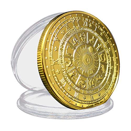 Bonarty Münze antike römische Münzen Gedenkmünze Andenkenmünzen - Golden