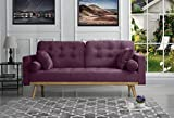 Sofamania Mid-Century Sofas, Purple