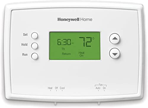 2021 Honeywell Home RTH221B1039 high quality wholesale RTH221B Programmable Thermostat, White outlet online sale