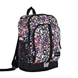 """Tokidoki All-Stars Basic Sports Backpack, Large 16"""" x 12"""" Dual-Zippered Multi-Purpose Bag with Padded Shoulder Straps and Mesh Water Bottle Pockets"""