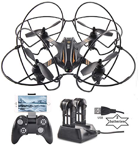 Drone and Remote Control, Drones with camera for Kids, RC Helicopter and HD Camera, Black Kid Toy, Airplane Toys, RC Drone Helicopter with Remote Control, Kids Electronics Quadcopter, Electronic Toys