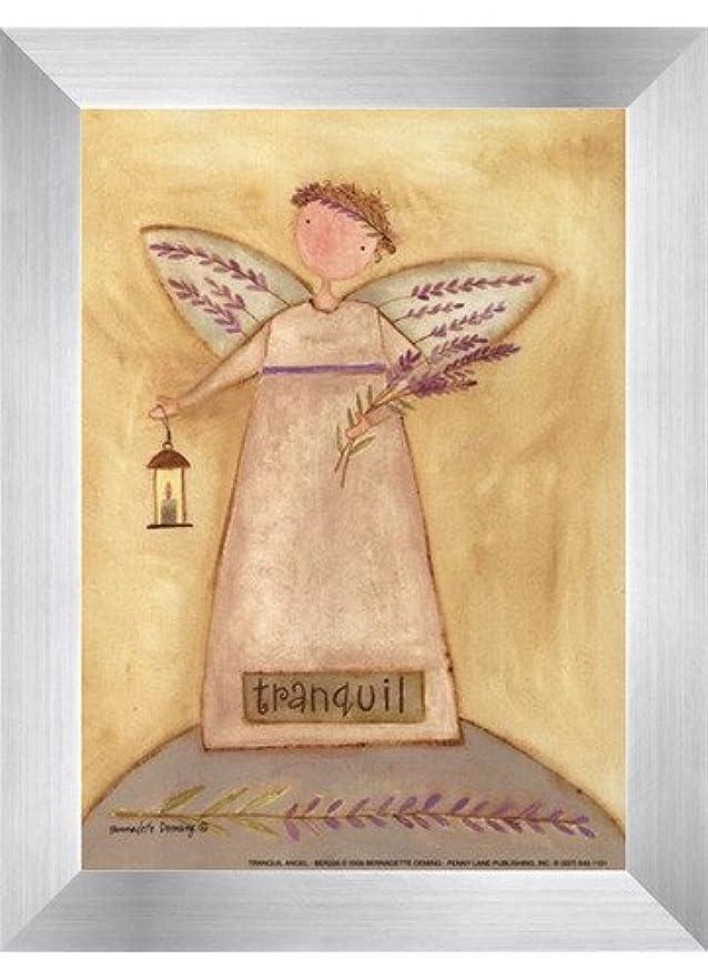 干渉一般的に形成Tranquil Angel by Bernadette Deming?–?5?x 7インチ?–?アートプリントポスター LE_613849-F9935-5x7