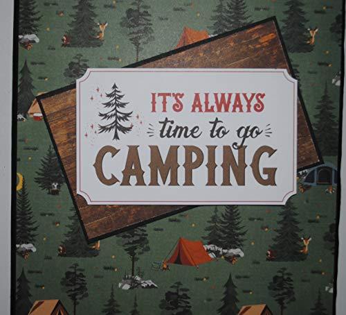 Camping Photo Book, Camping Photo Album, Fishing Photos, Trip to Camp, Hiking, Trip to Lake Photo Book, 4 x 6 Photo Album, Vacation Photos
