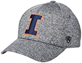Top of the World Illinois Illini Men's Adjustable Steam Charcoal Icon hat, Adjustable