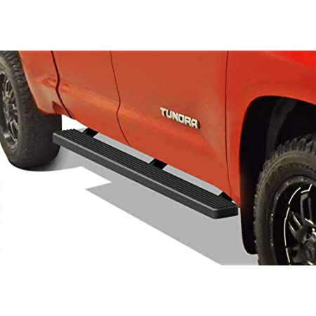 """Premium 6/"""" Black iBoard Side Steps Fit 07-20 Toyota Tundra Double Cab"""