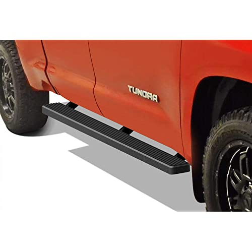 """COATED BOLT-ON 3/"""" SIDE STEP NERF BAR//RAIL FOR 07-16 TOYOTA TUNDRA CREWMAX CAB"""