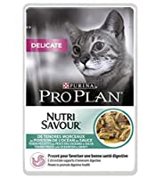 CHOOSING THE RIGHT FOOD can help your cat to stay healthy and live a long and happy life. This complete food for adult cats includes a prebiotic which has been proven to promote digestive health and this can be beneficial for cats with sensitive dige...