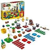 Comprend les personnages LEGO de 4ennemis de Super Mario, Larry, un Goomba, un Bob-omb et un Paratroopa, pour une expérience de jeu inimitable. Inclut une machine de personnalisation, une brique d'actionTemps et 2briques d'action Objet personnalis...