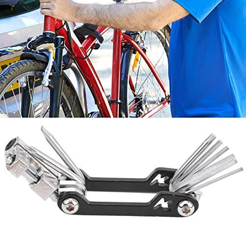 BOLORAMO Juego de reparación de Bicicletas Chain Breaker 10 en 1, para reparación de Bicicletas