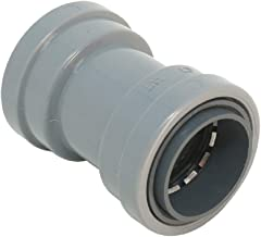 """Southwire P-CP-075-Q5 3/4"""" CIC Push Install 5-Pack PVC Coupling, Gray"""
