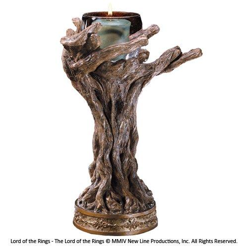 The Noble Collection Bastón candelabro votivo Gris