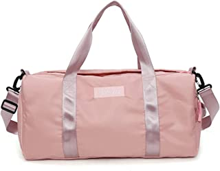 """Womens travel bags,sports Gym Bag,Waterproof Storage Bag,weekender carry on for women, workout duffel bag fit 15.6"""" Laptop for women"""