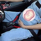 Crenze Schwangerschafts-Sicherheitsgurt-Regler, Sicherheitsgurt für Schwangere, Komfort & Sicherheit für den Bauch schwangerer Mütter, Schützt das ungeborene Baby, ein Muss für werdende Mütter