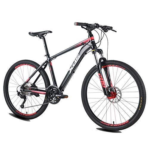Qj Las Bicicletas De Montaña De 26 Pulgadas, 27 Velocidad De La Bicicleta De Montaña, Bicicleta De Montaña Marco De Aluminio Rígidas De Los Hombres, De Doble Suspensión De La Bici De Montaña,15.5in