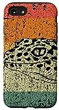iPhone SE (2020) / 7 / 8 Retro Lizard Reptile Gift Vintage Leopard Gecko Case
