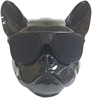 Elesoi Control de Tacto inalámbrico portátil del Altavoz de Bluetooth de la Cabeza de Perro de