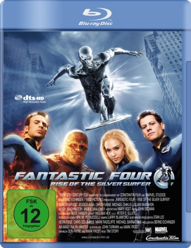 Fantastic Four - Rise of the Silver Surfer [Blu-ray]