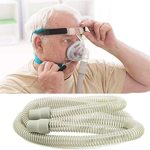 Enshey 2ps nuevo tubo de manguera de aire CPAP – Reemplazo estándar delgado para la máquina de apnea del sueño ResMed S9 de 6 pies de longitud 15 mm de diámetro