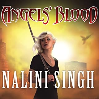 Angels' Blood audiobook cover art