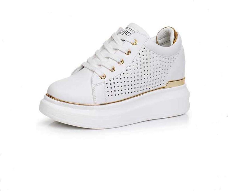Btrada Summer Women Hidden Wedge Heels Wedges Platform Sneakers Ladies Casual shoes