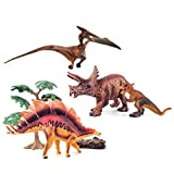 GizmoVine Juguetes de Dinosaurios, Educativo Realista Dinosaurio Jugar Juguetes Animales Acción Figu...