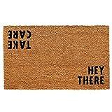 Calloway Mills 100511729 Hey There Doormat, 17' x 29', Natural/Black