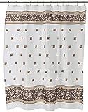 N\A Home Fashions Windsor Stoff Duschvorhang, Schieferblau