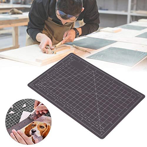 Alfombrilla de corte autocurativa con escala de regla Herramienta de bricolaje de doble color Suministros para estudiantes PVC