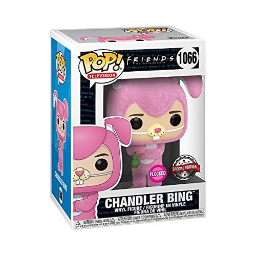 Funko Pop! TV: Friends Chandler Bing as Bunny Flocked Exclusive Vinyl Figure #1066