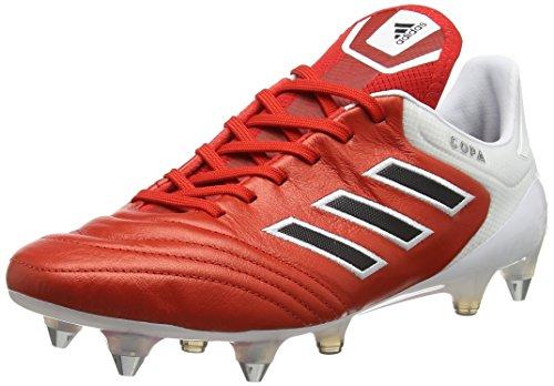 adidas Copa 17.1 SG, Botas de fútbol para Hombre, Rojo (Red/c Black/FTW White), 40 EU