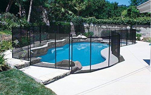 Pool Safety Fence GLI 5 ft. X 10 ft. 30-0510-BLK
