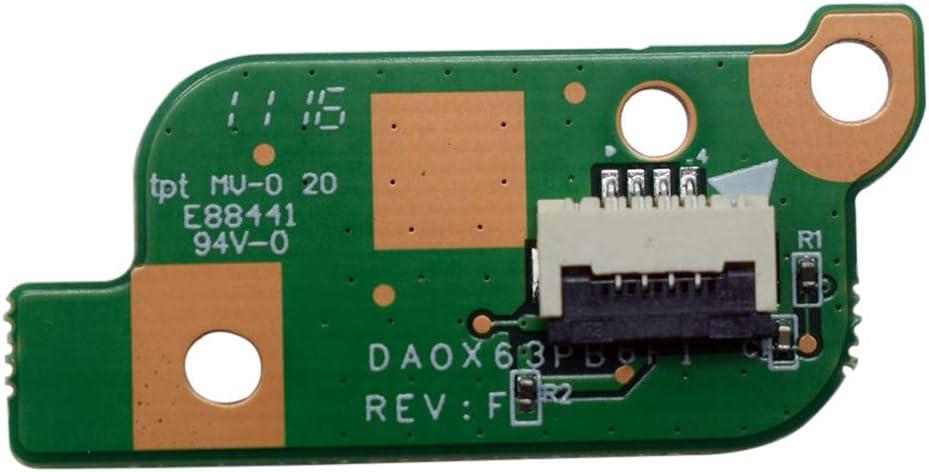 Rangale Replacement Power Button Switch Board Commpaitble for Probook 450 G3 470 G3 Series Laptop Part Number:DA0X63PB6F1 827035-001 DA0X63PB6F0
