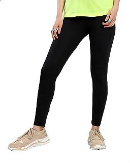 Belle Elastic High-Waist Maternity Skinny Leggings - Black