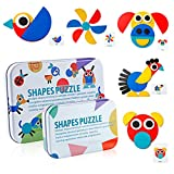 Wooden Jigsaw Puzzle - Gift Toys for 3-8 Years Old Boys Girls