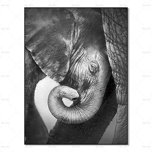 YAZHIQT Canvas Picture Print,Wall Art Picture Animal Poster Print Animal Icon Canvas Schilderij Gebruikt Voor Thuis Woonkamer Decoratie Zonder Frame 50×70cm No frame