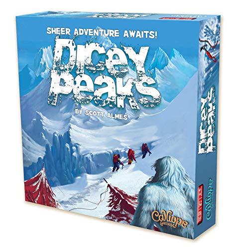 Calliope Games CLP118 Dicey Peaks, Mehrfarbig